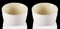 Le Creuset Förmchen-Set, 2-teilig in shell pink