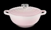Le Creuset Familientopf La Marmite aus Gusseisen in shell pink