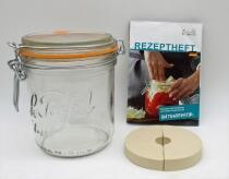 Schmitt Fermentier-Starter-Set Le Parfait-Glas