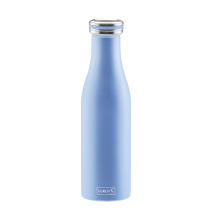 Lurch Isolierflasche in pearl blue, doppelwandig