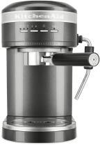 KitchenAid Halbautomatische Espressomaschine ARTISAN in medallion silber
