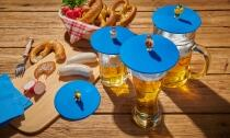 Lurch Sommerdeckel Biergarten, 4er-Set gemischt