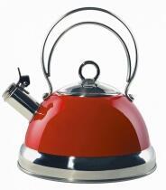 Wesco Flötenkessel Cookware rot