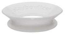 Stabilisierungsring Staybowlizer in weiß