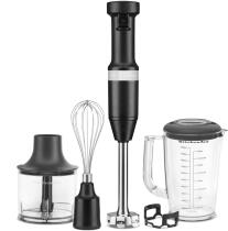 KitchenAid Stabmixer Set in mattschwarz