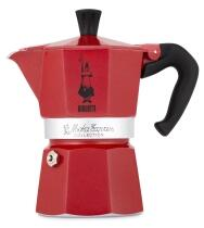 Bialetti Espressokocher Moka Express Red