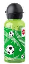 Emsa Kids Tritan Trinkflasche Fußball mit Trinkverschluss