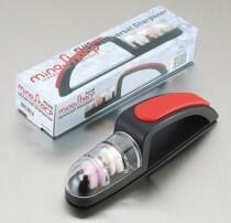minoSharp Keramik Handschleifer 440 BR Plus in rot/schwarz