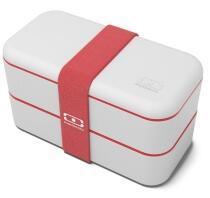 Monbento MB Original Bento-Box, grau-rot