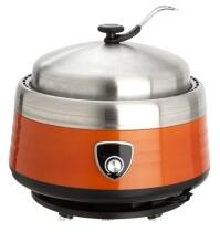Allgrill Holzkohlegrill Vulcano in orange