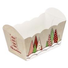 Städter Papierform Yummy Christmas 7 x 4 x 4 cm Bunt 10 Stück