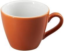 Eschenbach Porzellan Obertasse 0,10 l in orange-braun