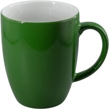 Eschenbach Porzellan Becher mit Henkel 0,28 l in dunkelgrün