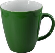 Eschenbach Porzellan Becher mit Henkel 0,35 l in dunkelgrün