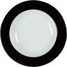 Eschenbach Porzellan Teller tief 22 cm in schwarz