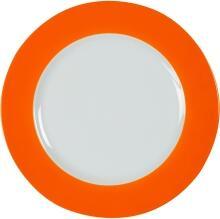 Eschenbach Porzellan Teller flach 26 cm in orange