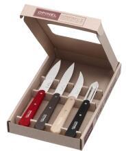 Opinel Küchenmesser-Set Les Essentiels Loft, 4-teilig