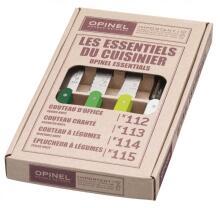 Opinel Küchenmesser-Set Les Essentiels Primavera, 4-teilig