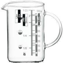 WMF Messbecher Gourmet aus Glas, 0,5 Liter