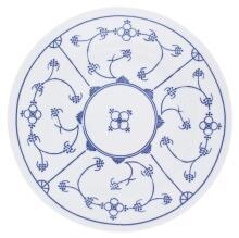 Kahla Tradition Speiseteller 23,5 cm in Blau Saks