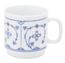 Kahla Tradition Kaffeebecher 0,30 l in Blau Saks