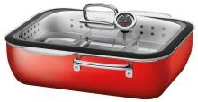Silit Brat- & Dampfgarsystem ecompact in Energy Red