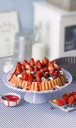 Mehr Obstkuchenrezepte finden Sie hier