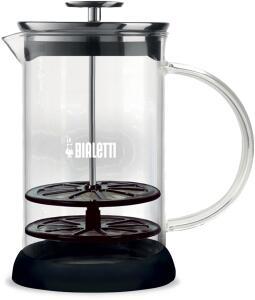 Bialetti manueller Milchaufschäumer Cappuccinatore aus Glas