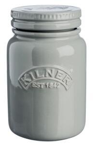 Kilner Keramikgefäß Push Top in dunkelgrau, 0,6 Liter