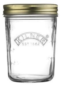 Kilner Einmachglas mit Schraubverschluss, breite Öffnung