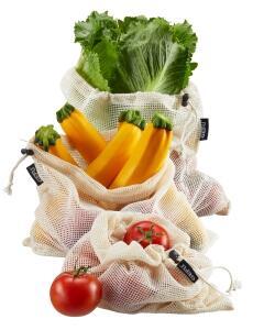 GEFU Obst- und Gemüsenetz-Set AWARE, 3-teilig
