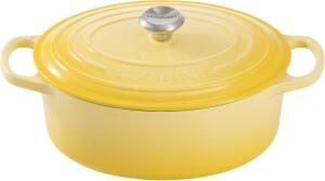 Le Creuset Bräter Signature oval in citrus