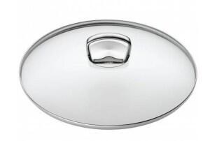 Silit Glasdeckel mit Metallgriff für Woks