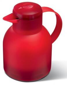 Emsa Isolierkanne Samba rot, 1,0 l