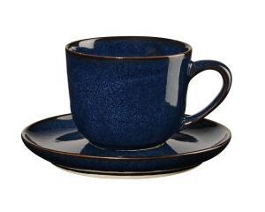 ASA Espressotasse mit Untertasse Saisons midnight blue