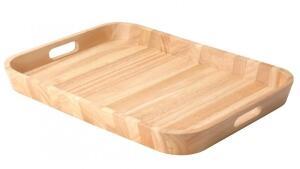 Continenta Tablett aus Gummibaumholz