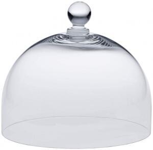 Birkmann Glashaube für Tortenplatte Vintage