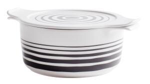 Eschenbach Topf mit Deckel Cook & Serve in stripes