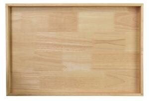 ASA Holztablett rechteckig wood natur