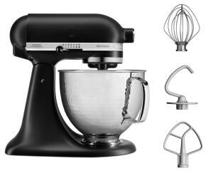 KitchenAid Küchenmaschine ARTISAN 156PS in mattschwarz