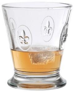 La Rochère Trinkglas Fleur de Lys, 6er-Set (B-Ware wie neu)
