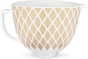 KitchenAid Keramikschüssel in gold conifer, 4,7 L