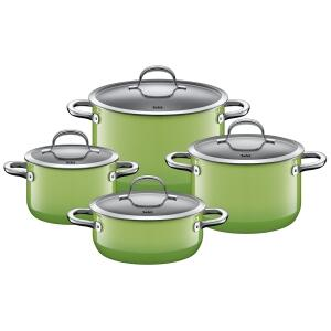 Silit Kochtopf-Set Passion Green, 4-teilig