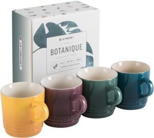 Le Creuset Becher 4er-Set 200 ml, Botanique