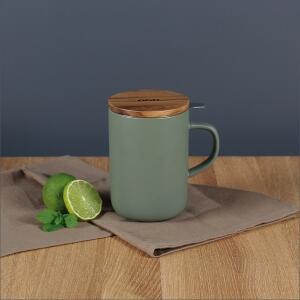 OGO Living Teepott Juliet mit Filter, olivgrün