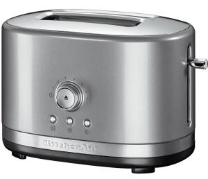 KitchenAid Toaster mit manueller Bedienung 2-Scheiben in kontur-silber