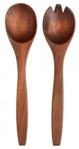 ASA Salatbesteck wood dark aus Akazie