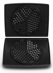Fritel Backplatte Herzwaffeln für Waffeleisen