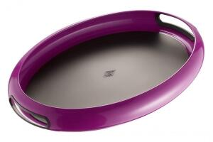 Wesco Tablett Spacy Tray oval in brombeer