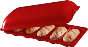 Emile Henry Mini Baguette-Set in Grand Cru